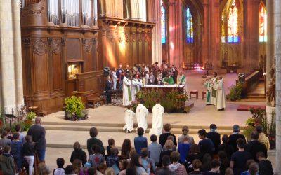 Messe de rentrée de l'Enseignement Catholique de la Nièvre