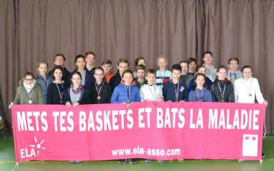 Le Collège Fénelon court au profit de l'association ELA