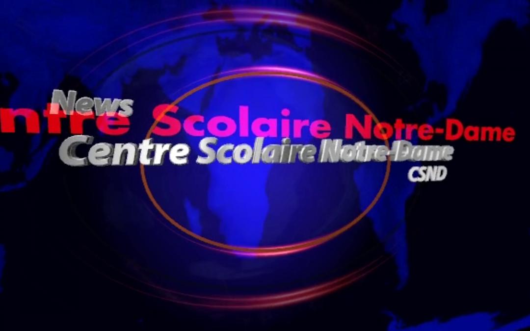 CSND News, de vrais reporters au collège Fénelon