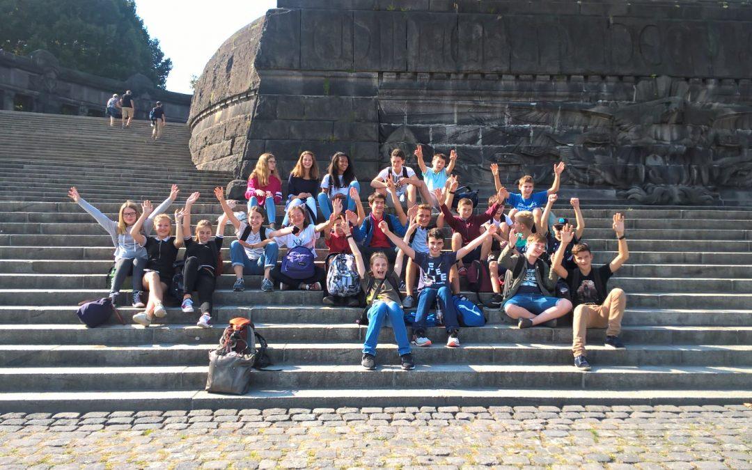 Coblence Jour 1 – Besichtigung der Stadt Koblenz