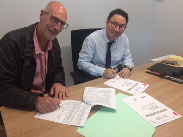 Signature d'une convention avec GCA (Groupe Audi, Volkswagen, Skoda et Seat)