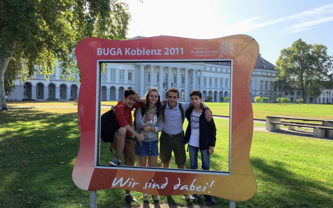 Séjour à Koblenz : Echange pour nos 5èmes, 4èmes et 3èmes LV1 et LV2