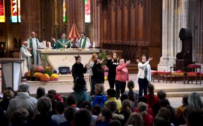 Messe de rentrée pour l'Enseignement Catholique de la Nièvre