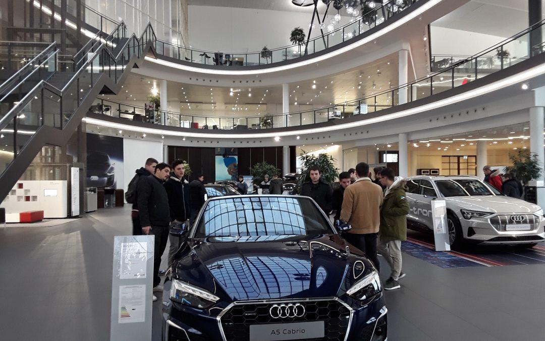 Visite du site de production Audi ,Neckarsulm  pour les BTS MV 1 et 2