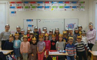 La galette des rois partagée à l'école