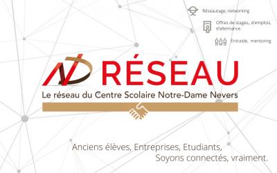 Lancement du site ND Réseau