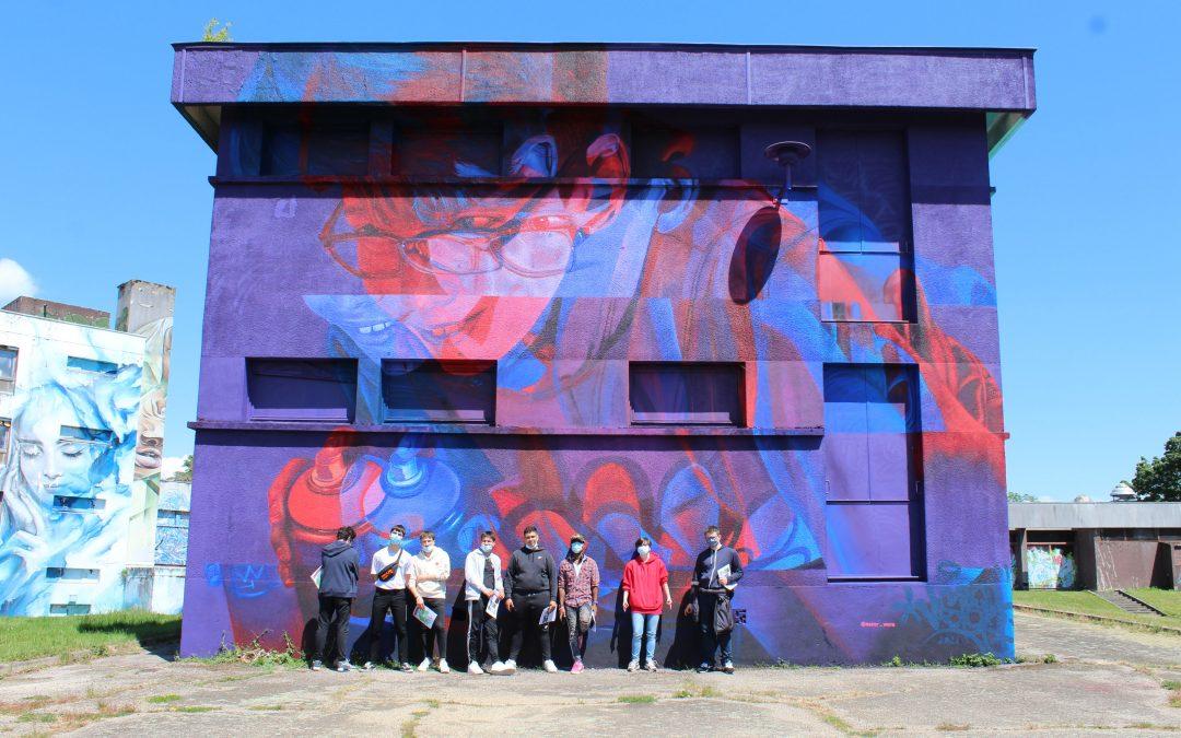 Sortie des MEI à Street art city
